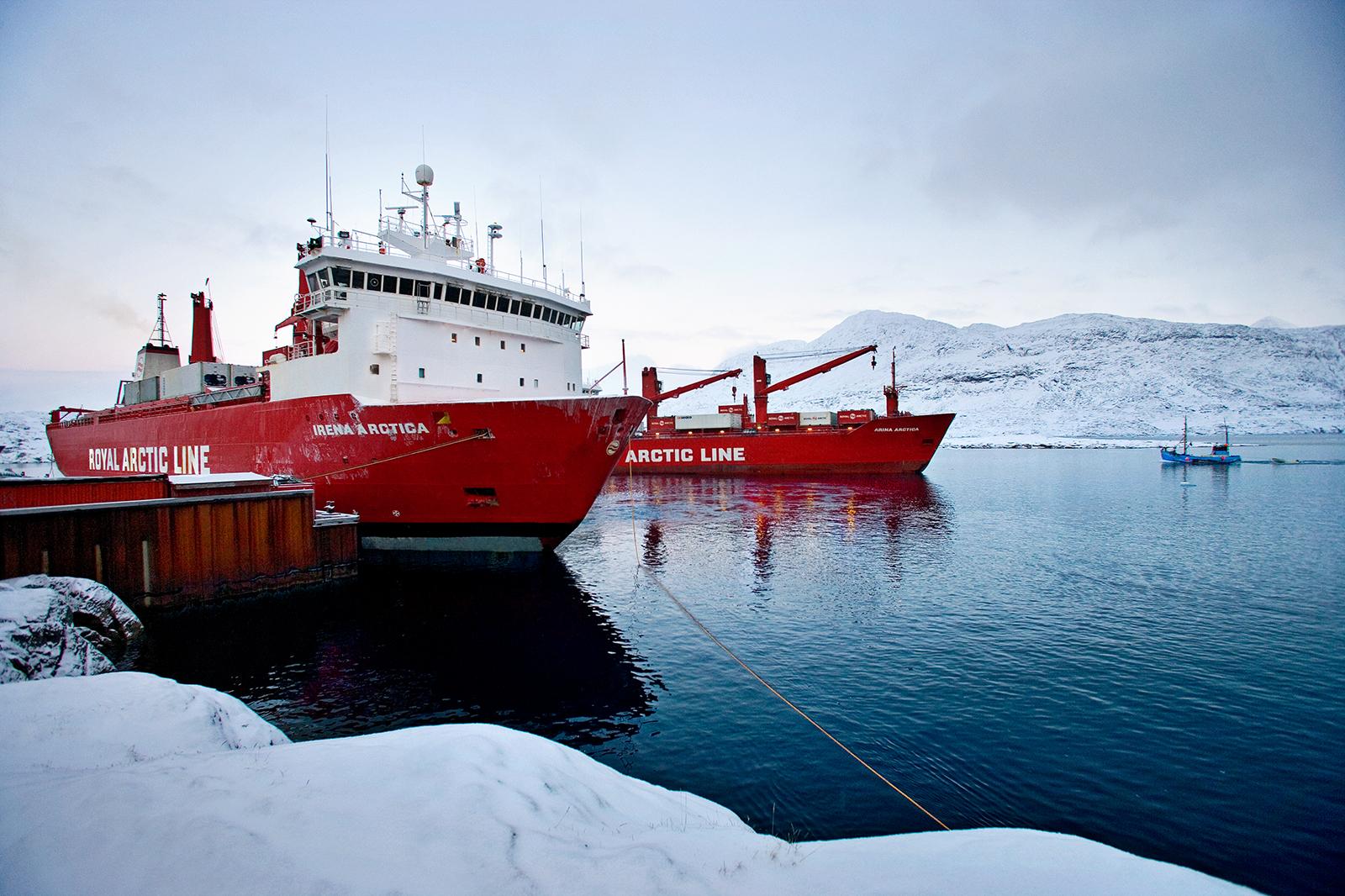 Arctic Line : Irena arctica royal arctic line