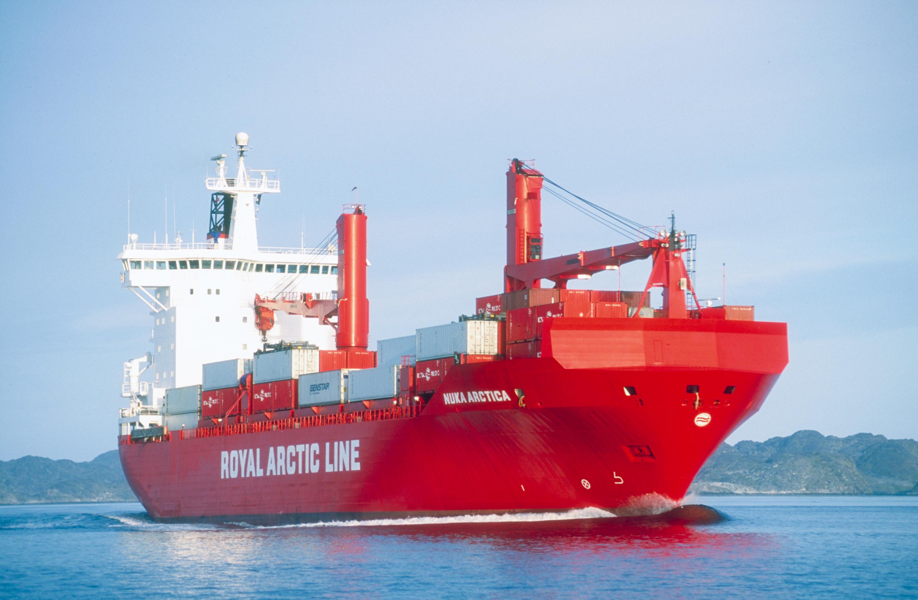 Arctic Line : Nuka arctica royal arctic line